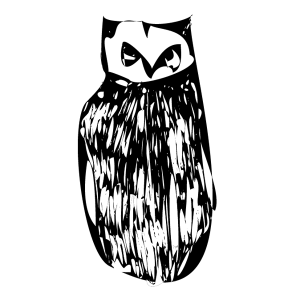 An illustration of an owl.