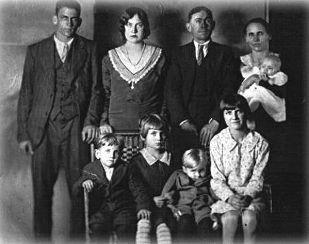 The Lawson family portrait, taken two weeks before the murders.
