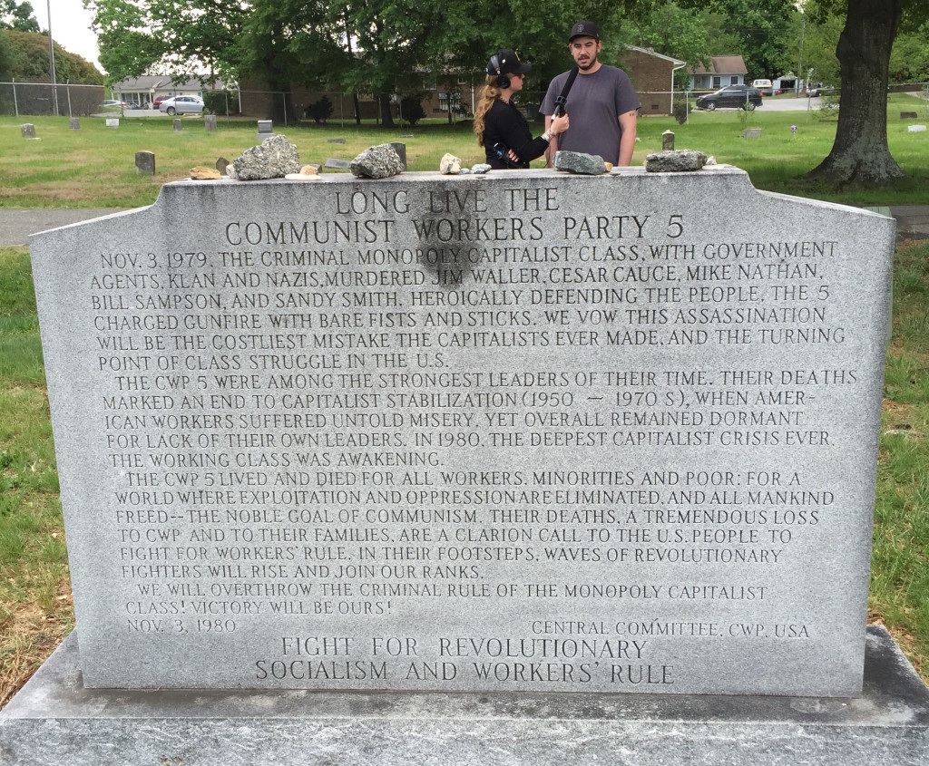 A memorial to the Communist Works Party 5.