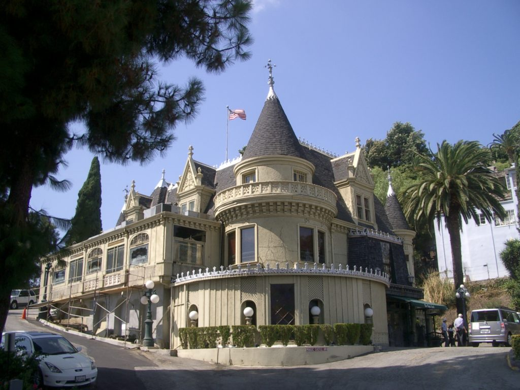 The Magic Castle in Los Angeles, where each room is rigged to the hilt with tricks and illusions.